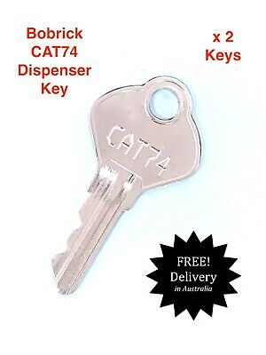 Replacement Key Pair To Suit  Bobrick Brand Products-Paper Towel,Soap dispenser