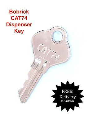 Replacement Key Pair To Suit Bobrick Brand Washroom Equipment CAT74