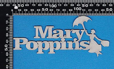 Chipboard A2Z Scraplets Mary Poppins GR