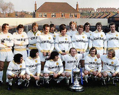 Leeds United 1St Division Champions 1973-74 01 Photo Print 01A