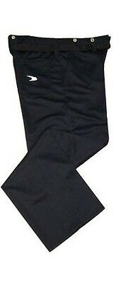 New Force 100% polyester pant referee pants size xLarge black hockey officials