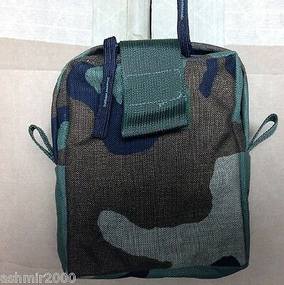"US Military Issue Woodland Camo""Medic Pouch BRAND NEW"
