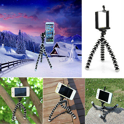 Generic Mini Flexible Tripod Stand Mount Holder Pod For Samsung HTC cell phone
