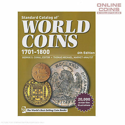The Standard Catalogue of World Coins - 6th Edition 1701-1800 - NEW RELEASE!!