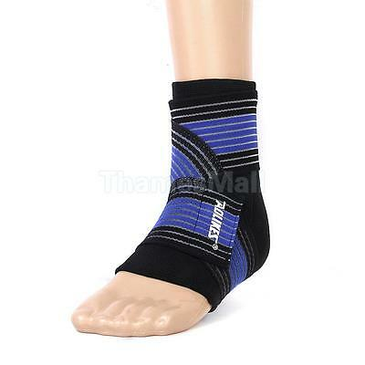 1pc Footful Ankle Foot Elastic Wrap Support Sleeve with Bandage Brace Guard