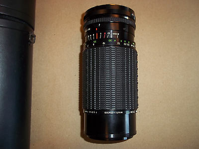 SIGMA Camera Photogrpahy Lens HIGH SPEED ZOOM 1:3.5-4 F=80-200MM KONICA MOUNT