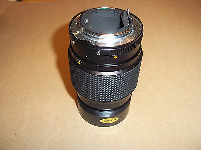 Konica Hexar AR 135mm F3.5 lens All black. in nice condition.