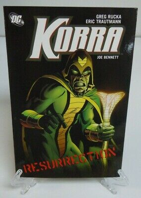 Kobra Resurrection Greg Rucka Eric Trautmann DC Comics Trade Paperback TPB New