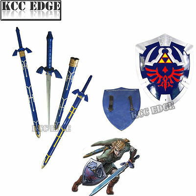 ZELDA COMBO SET MASTER SWORD + SHIELD Thanksgiving Costume Xmas Decor Gift
