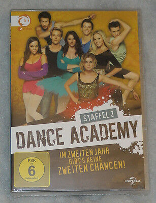 Dance Academy - The Complete 2nd Series Season Two 2 DVD Box Set - New & SEALED