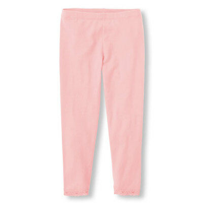 New TCP Girls The Children's Place Pink Lace Leggings Full Length 2T 3T 14 NWT