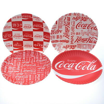 Coca-Cola Around The World Melamine Plate Set Coke Tabletop Tabletop