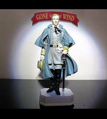 New Gone with the Wind Ashley Wilkes figurine  statue San Francisco music Box