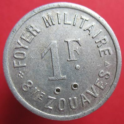 French Military- 8-me Zouaves -1 F- (Oran - Algeria) -UNLISTED -more on ebay.pl