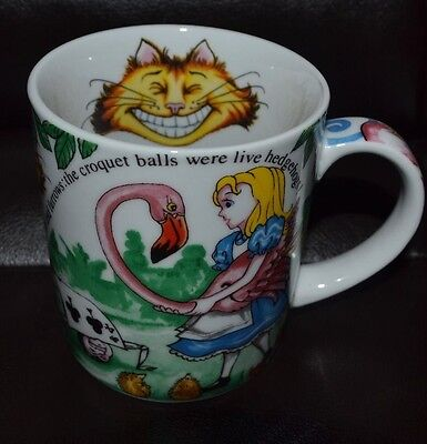 Disney Paul Cardew Alice in Wonderland Mug Coffee Tea Cup 2010 ENGLAND
