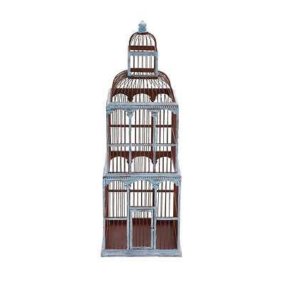 Woodland Imports The Tall Wood Birdcage - 76179