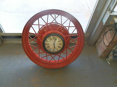 FORD WHEEL CLOCK FOR YOUR MAN CAVE