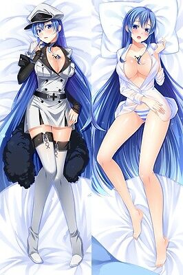 Animation Akame Ga Kill Esdeath Dakimakura Anime Pillow Cover Case Hugging Body