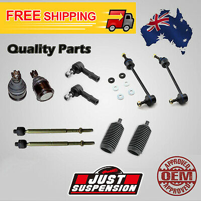 10 x Holden Commodore VT VX VY VZ Tie Rod Ends Boots Ball Joints Sway Bar 97-04