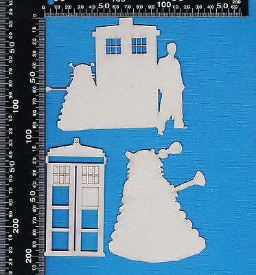 Chipboard Dr Who Set