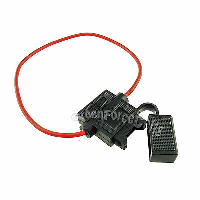 5 x pc Waterproof  ATC Standard Type In Line Fuse Holders 16AWG Car Boat BH708