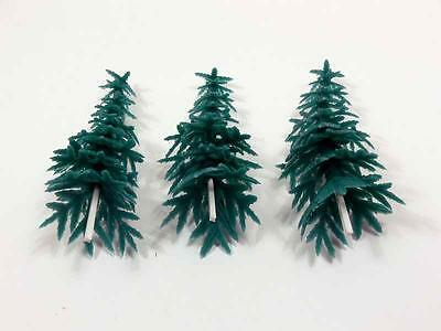 "CREATIVE TIME Create A Project 3 - 3.5"" FIR TREES Model Diorama Accent 7018"