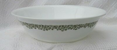 """Lg 10 1/4"""" VEGETABLE Serving BOWL Corelle Dis CRAZY DAISY Spring Blossom PATTERN"""