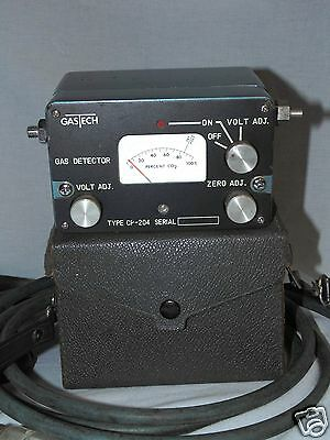 GASTECH CP-204 Combustible Gas Detector