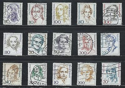 Germany  - Famous Women on Stamps........................#4926