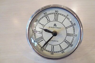 CLOCK~49 BOND STREET LONDON~CIRCA 50'S AUTOMOBILE DASH TACHOMETER~V.RARE FIND~