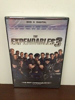 The Expendables 3 DVD 2014 Sylvester Stallone, Beware of Fake Copies w/o UV code