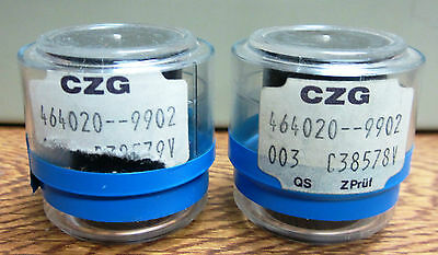 ZEISS CZG  Kpl 10X/16 EYEPIECES (PAIR)    BARREL DIAMETER 23.2 mm       nvdc-os