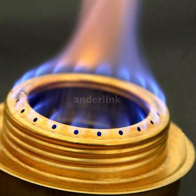 Copper Alloy Portable Spirit Burner Alcohol Stove Outdoor Camping Stove Durable
