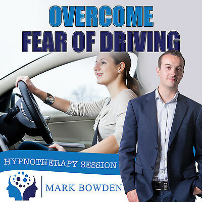OVERCOME FEAR OF DRIVING HYPNOSIS CD + FREE MP3 VERSION motorway phobia drive