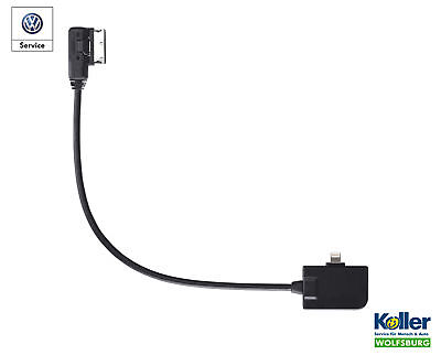 Original VW Adapter Media-In für Apple iPhone 6 / Plus Lightning Connector