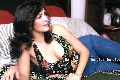 "Lynda Carter busty halter top 4""x6"" picture shot photo beautiful sexy portrait n"