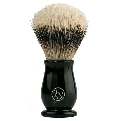 Frank Shaving Silvertip Badger Shaving Brush #19 Black