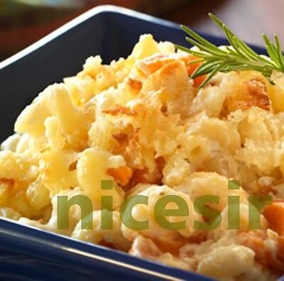 1 Macaroni Mac & Cheese Recipe w Picture Photo 0.99 Cent Auction