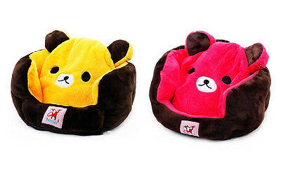 PETCIRCLE Design-New Color Cute Cozy Warm Bear Winnie Pet Bed for Dog Puppy Cat