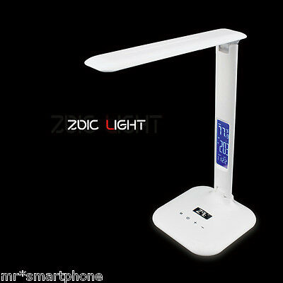 Foldable Desk Table LED Lamp Rechargeable Reading Touch Control Xmas Adjustable