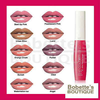 BRILLANT à LÈVRES GLOSS AVON Color Trend décliné en 10 coloris.