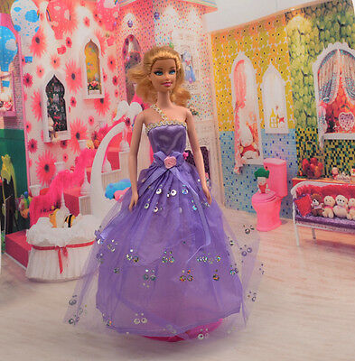 2014 Hot style Fashion Handmade princess  party Clothes dress For Noble Doll D22
