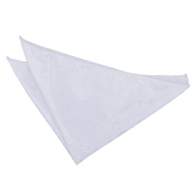 New Dqt Passion Mens Handkerchief / Hanky - White