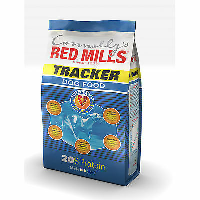 Connollys RED MILLS Tracker 20% Complete Resting Adult Greyhound Food 15Kg