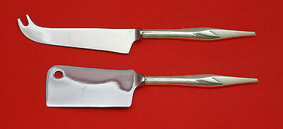 Soliloquy by Wallace Sterling Silver Cheese Server Serving Set 2pc HHWS  Custom