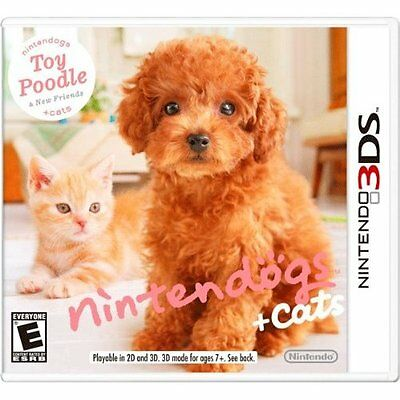 Nintendogs Cats: Toy Poodle andFriends Cartridge Only! #38207