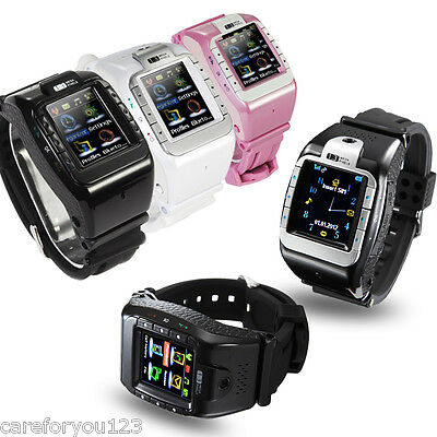 1.4'' Sports TouchScreen Wrist Mobile Phone Watch MP4 MP3 Camera Bluetooth GSM