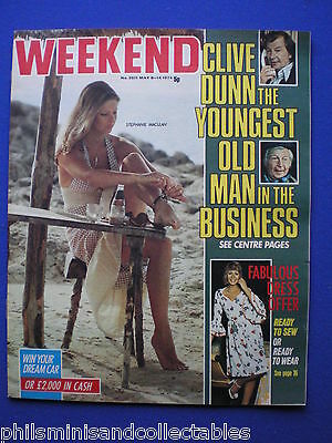 Weekend Magazine - Clive Dunn, Stephanie McLean - 8th  May 1974