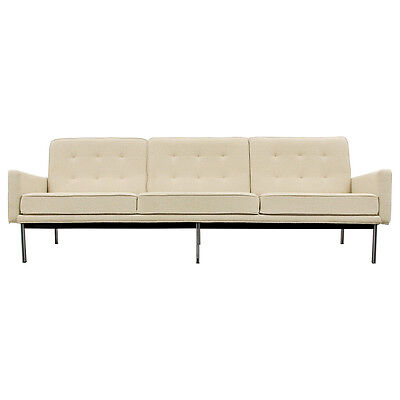"""Early Florence Knoll """"Parallel Bar"""" Sofa"""