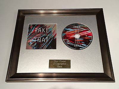 Take That - These Days Cd Framed Presentation. Gary Barlow, Mark Owen. Rare